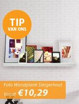 Fotolijsten Wandplank Steigerhout