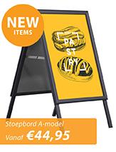 Stoepbord A-model Nieuw